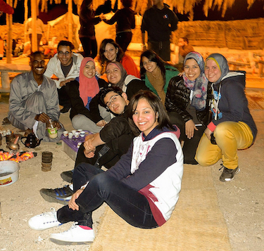 AUC Groups in Marsa Nakari