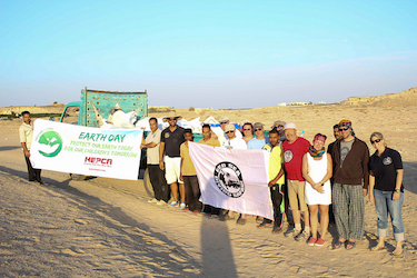 Red Sea Diving Safari supports Earth Day 2013