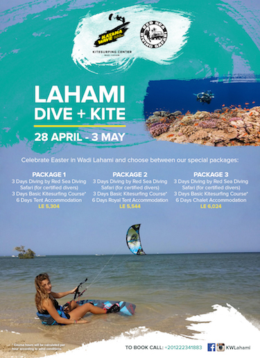 Sham El Nessim Dive & Kite Packages at Wadi Lahami!