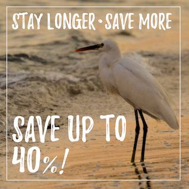 Stay longer, save even more