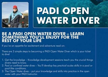 Scuba Diver to Open Water Diver