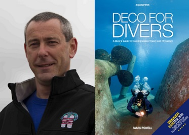 Now On Site: Mark Powell for Tec & Rebreather Training